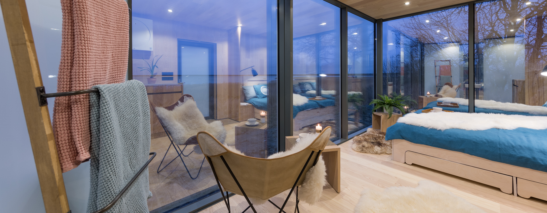 These gorgeous glass homes can pop up in 8 hours! – ÖÖD